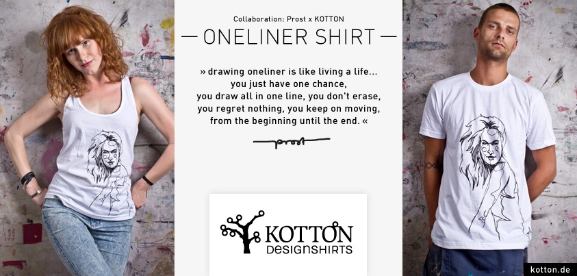 Kotton Designshirts Mein Lieber Prost Keep Berlin Weird