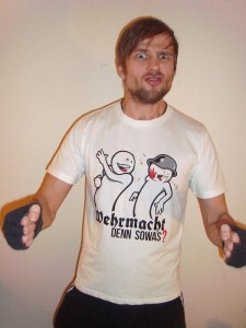 Wehrmacht denn Sowas T-Shirt Weiss Mein Lieber Prost Shop Keep Berlin Weird Sale