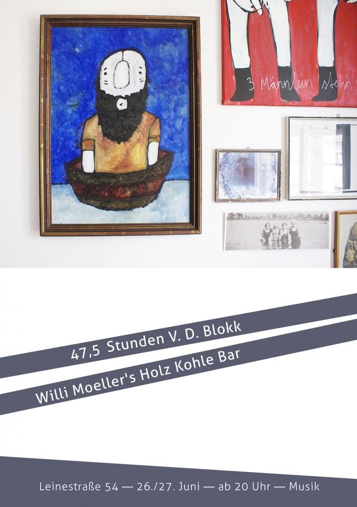 48 Stunden Neukoelln 47,5 Stunden V D Blokk Ausstellung Exhibition Keep Berlin Weird