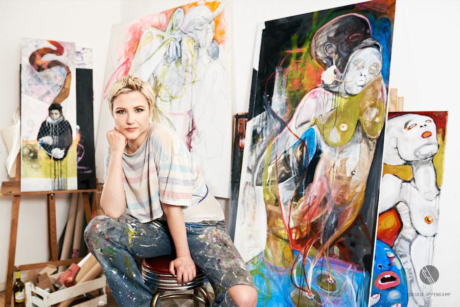 Laura Loreley Künstlerin Saskia Uppenkamp Keep Berlin Weird