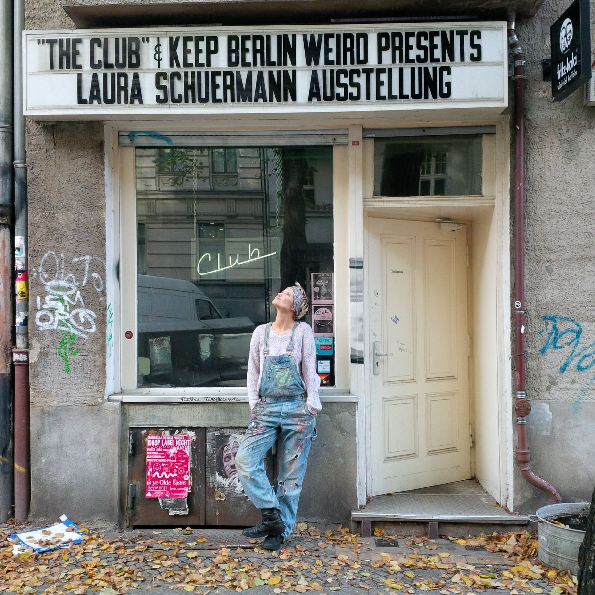 Laura Schuermann the Club Neukölln Keep Berlin Weird presents